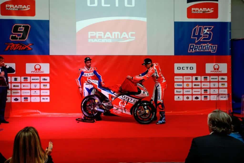 WD-40 Specialist Moto ai box di Octo Pramac Racing in Qatar!