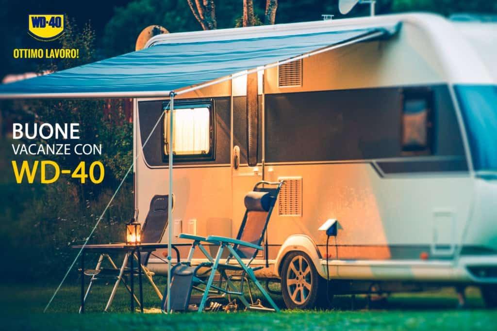 5 Motivi per portare WD-40 Multifunzione in campeggio con voi